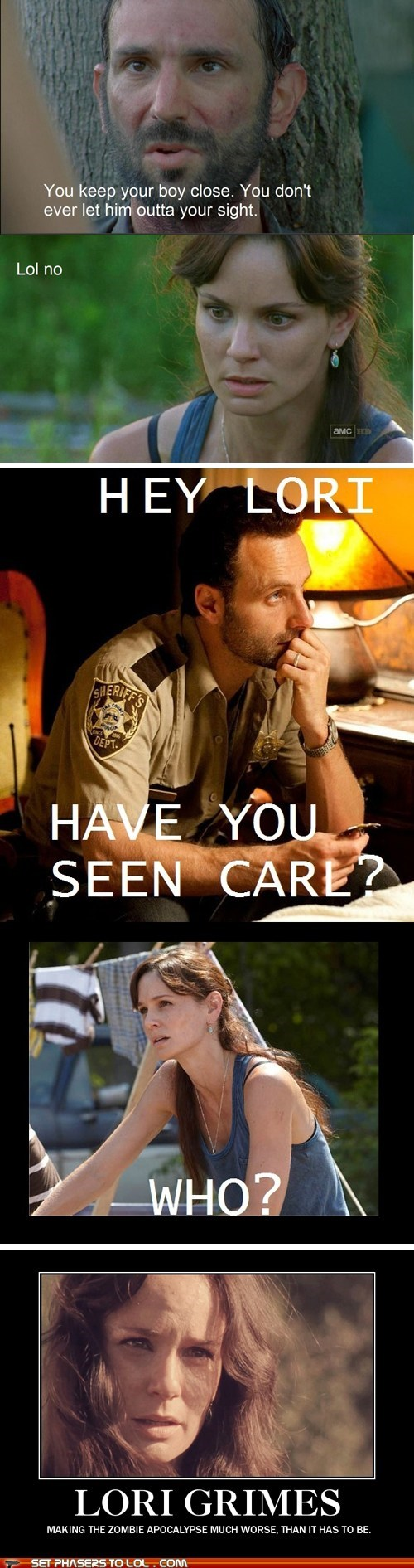 Walking Dead Memes: Lori is Really the Worst