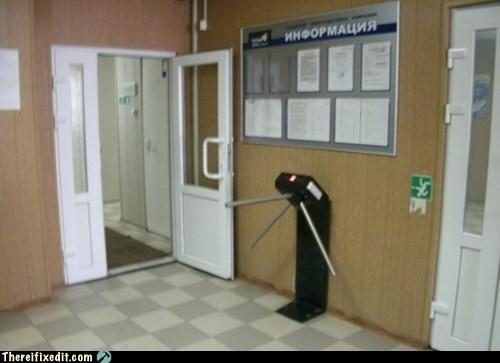 TSA in Russia is a Little More Lax