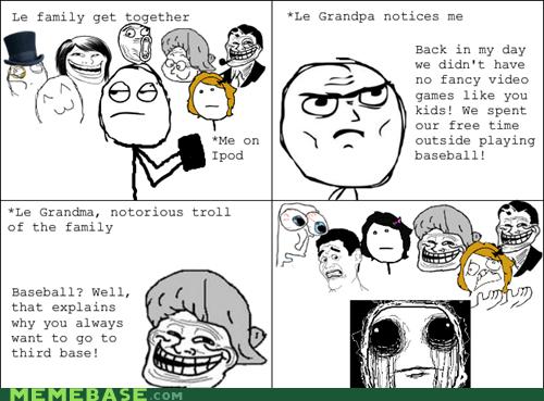 ew grandma Rage Comics that sounds naughty troll - 6009827584