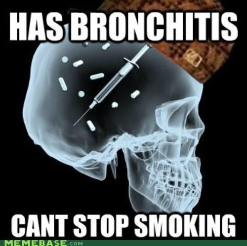 addiction Scumbag Steve skull smoking - 6009968128