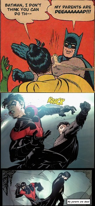 batman dead parents History Repeats robin smack Super-Lols - 6009968384