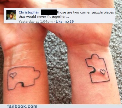 picture relationship tattoos wtf - 6010038016