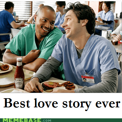 JD,love story,Memes,scrubs,turk,twilight