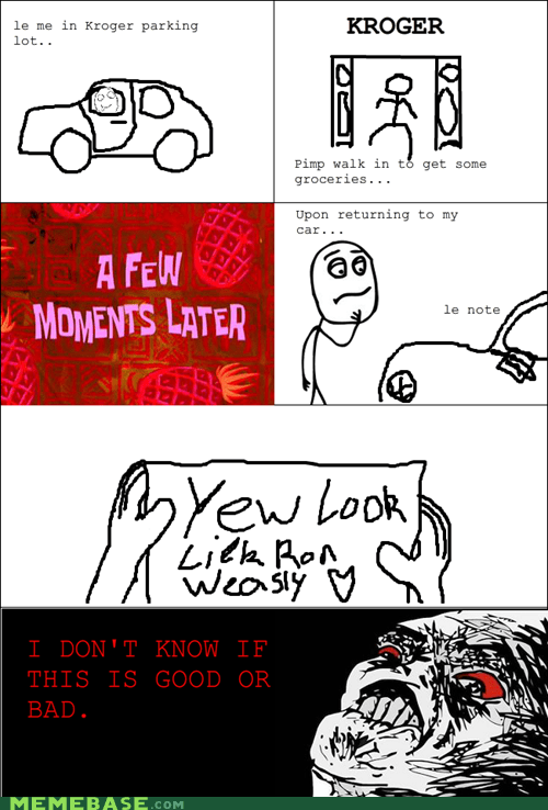ginger note Rage Comics raisin rage Ron Weasley - 6010058240