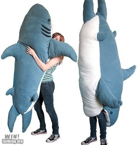 cute design g rated Hall of Fame Pillow shark win - 6010151936