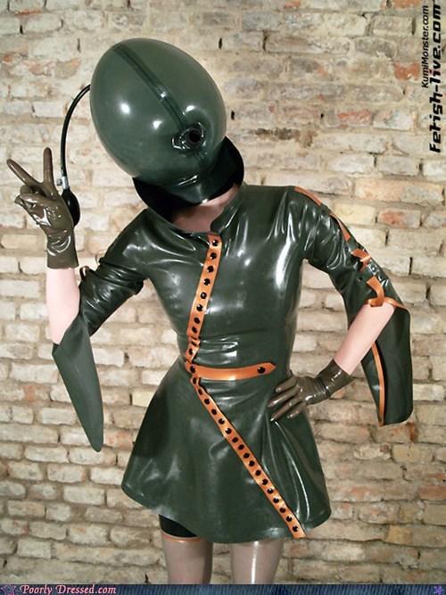 alien costume green Japan weird wtf - 6010497280