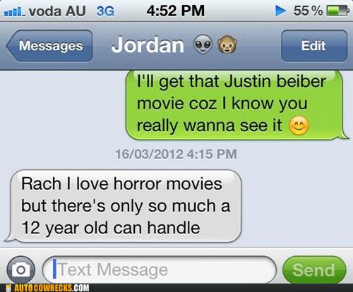 Bieber horror justin bieber movies - 6011170304