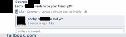 Awkward unfriend whoops - 6012007168