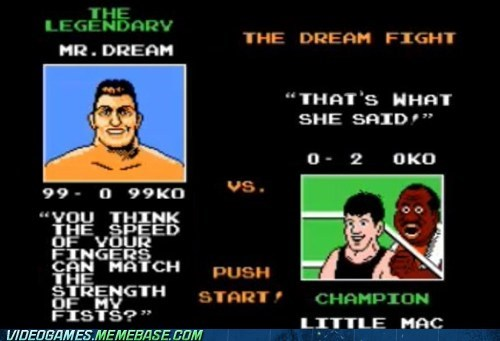 fingers,fisting,little mac,meme,Punch Out