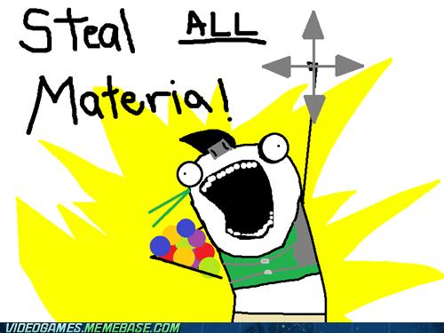 all the things final fantasy final fantasy VII materia meme yuffie - 6012694784