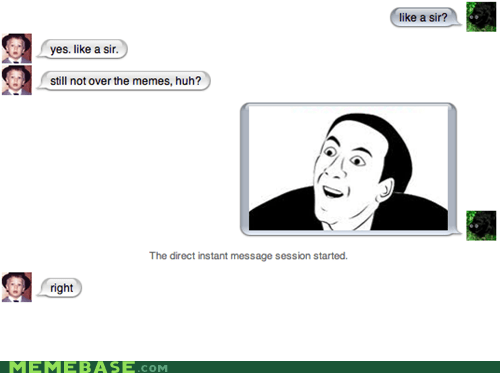 rage faces,sms,you dont say