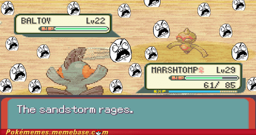In Soviet Russia, Sandstorm rage at you!