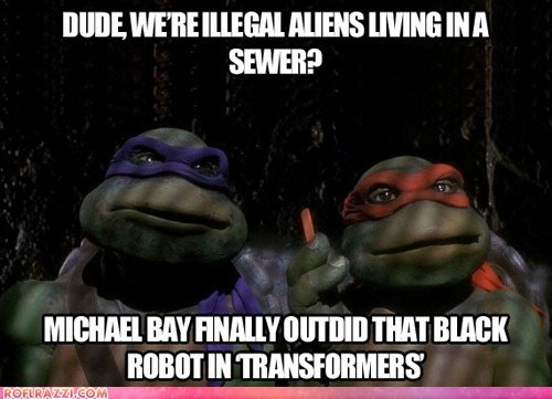 director funny Michael Bay TMNT - 6013449728