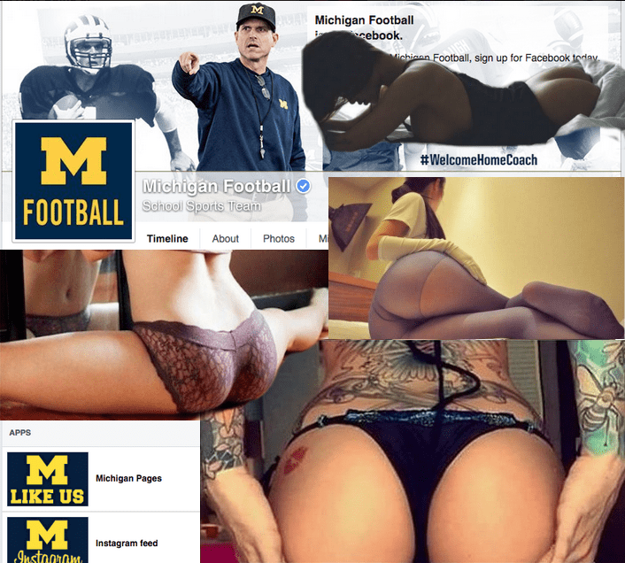 sports list michigan trolling butts facebook football - 601349