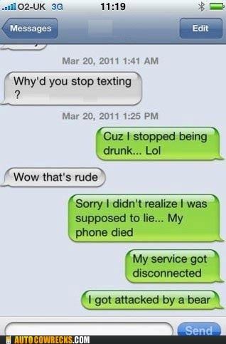 drunk drunk texting last night lying rude - 6013672960