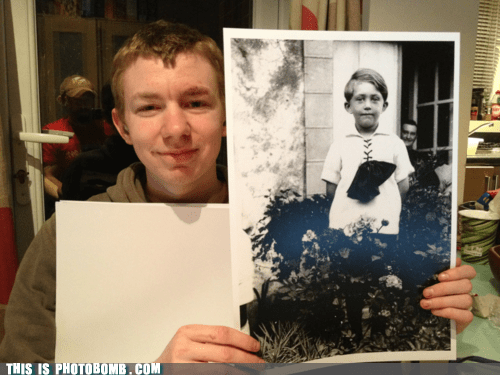 awesome,first photobomb,prints,world war II