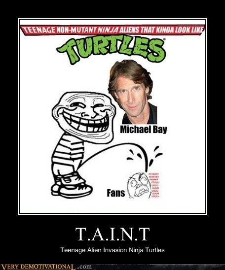 hilarious horrible Michael Bay TMNT wtf - 6013942272