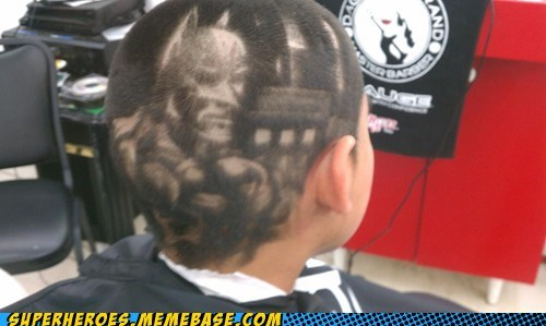 batman haircut legit Random Heroics superheroes wtf - 6014126592