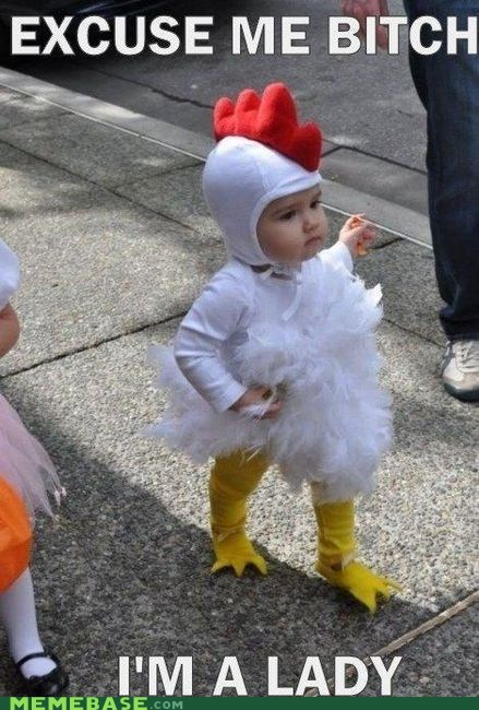 chicken,costume,girl,Ladies Love,lady