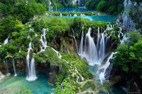 Croatia,Hall of Fame,lake,national park,waterfalls