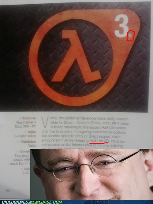 gabe newell,half life,half-life 3d,PC,trolling,valve