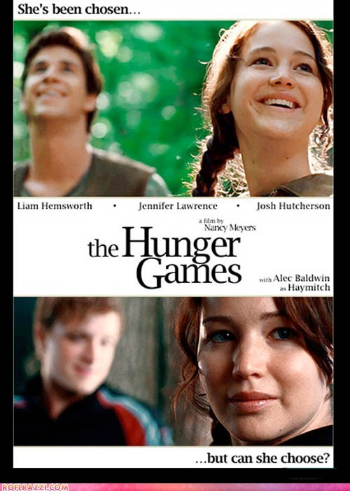 fake funny Movie poster hunger games - 6014678016