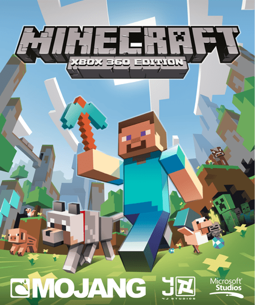 microsoft,minecraft,mojang,video games,xbla,xbox 360