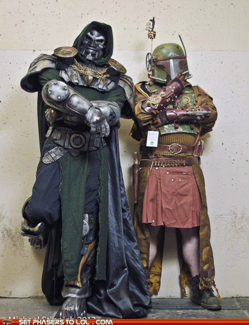 boba fett,dr doom,fantastic 4,gears,marvel,star wars,Steampunk