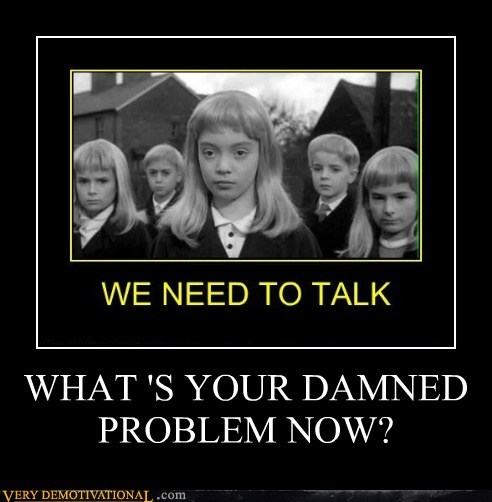 blonde children of the corn damned scary Terrifying wtf - 6015324160
