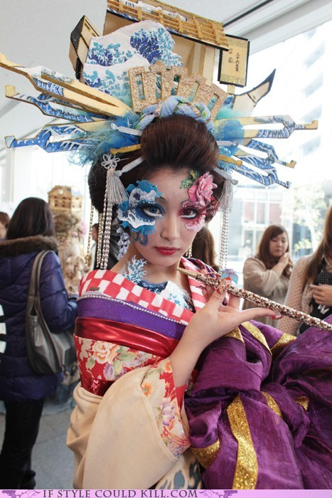 best of the week cool accessories cosplay hair kimono makeup oiran - 6015369728
