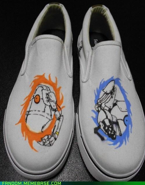 Fan Art Portal shoes video games - 6015549184