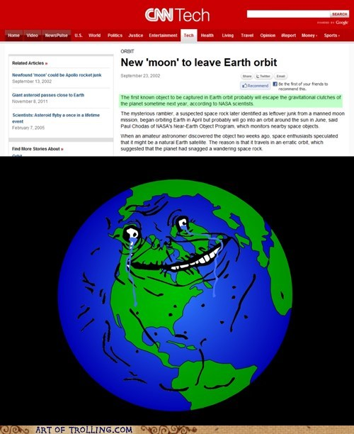 earth forever alone orbit Sad