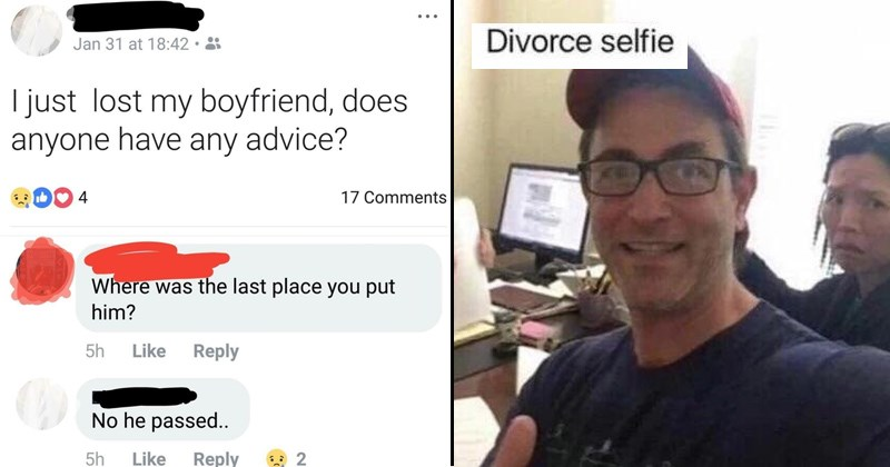 Sad sad cringe memes divorce selfie cringe social media cringe sad cringe cringey facebook divorce social media cringeworthy - 6016005