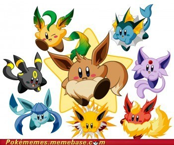 best of week crossover eevee eeveelutions kirby video games - 6016131072