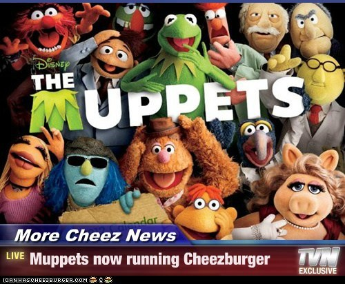 More Cheez News - Muppets now running Cheezburger