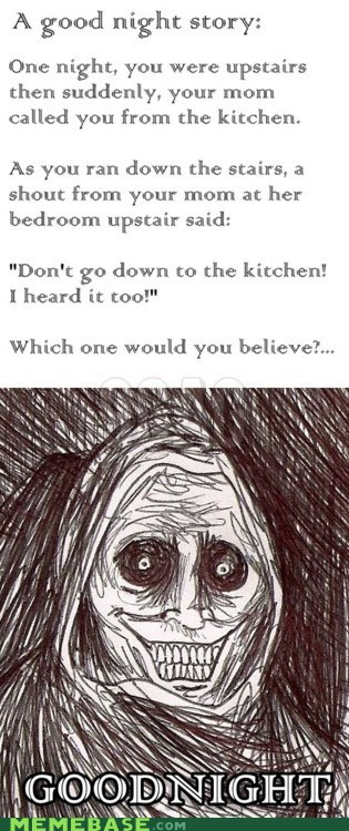 choices goodnight kitchen mom story The Shadowlurker - 6017383424