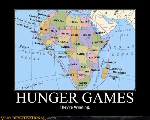 africa,hunger games,Sad