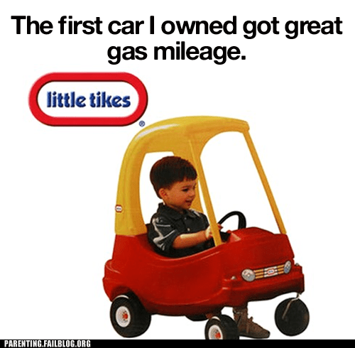 gas mileage,little tikes