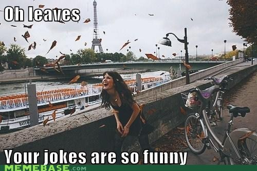 funny,jokes,leaves,lol,Memes