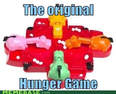 hunger games,hungry hungry hippos,katniss,Memes