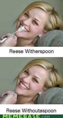 Memes reese Reese Witherspoon spoon without
