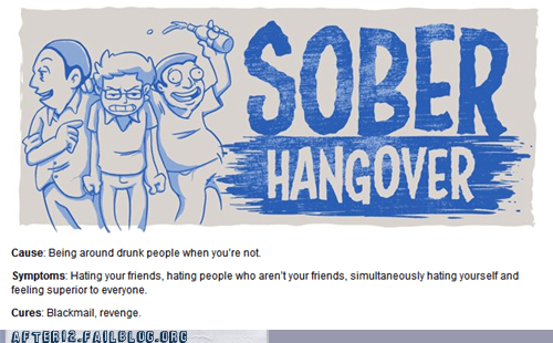 drunk hangover informative sober