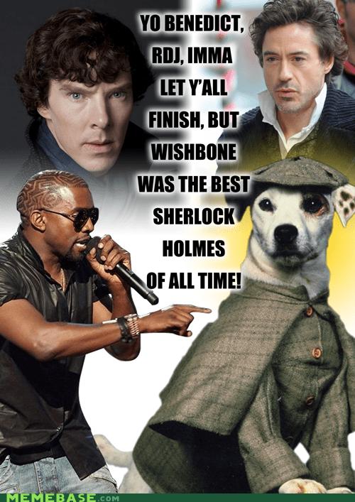 kanye kids Memes Sherlock television wishbone - 6018250240
