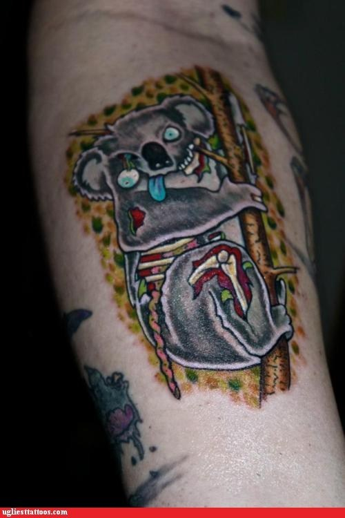 koala,zombie koala,zombie