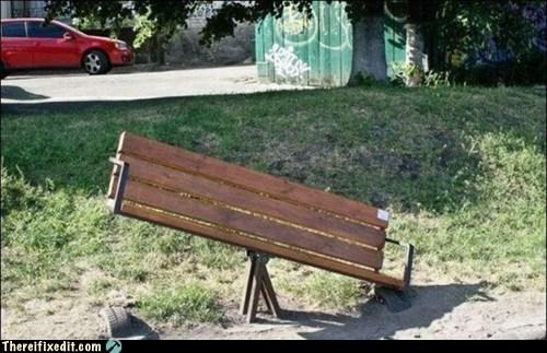 bench teeter totter - 6018318336