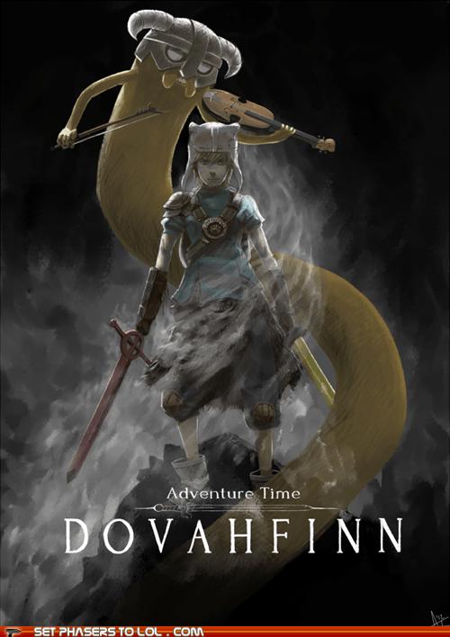 Skyrim - Dovahfinn