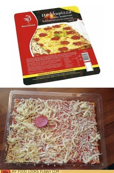 frozen package pepperoni pizza Sad - 6018566656