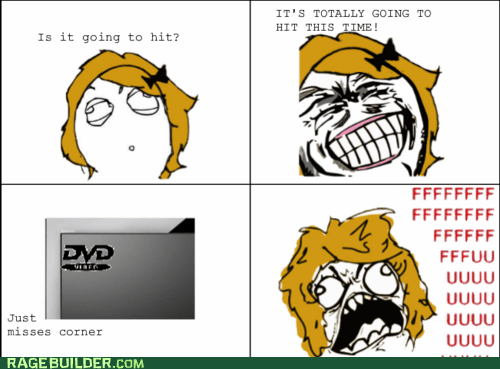 corner,DVD,Rage Comics,tv fu gal