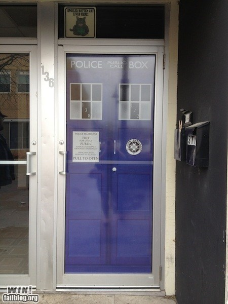 design doctor who door nerdgasm tardis - 6018648320
