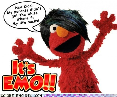 elmo,emolulz,muppet,Sesame Street